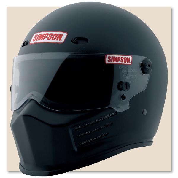 Bell Motorcycle Helmet >> Simpson Super Bandit Helmet SA2010 MSA compliant