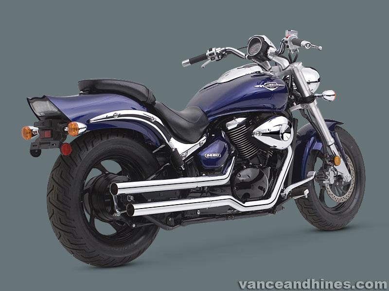 Suzuki M800 VZ800 Exhaust M50 Marauder 800 STRAIGHTSHOTS Vance and