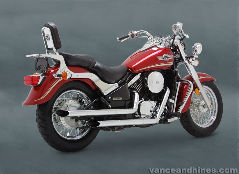kawasaki vn800 classic exhausts mufflers. Black Bedroom Furniture Sets. Home Design Ideas