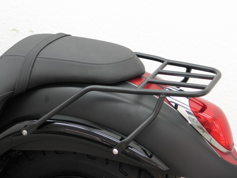 Motorcycle Helmets For Sale >> Kawasaki VN900 Custom Rear Rack Small Luggage carrier Black Finish
