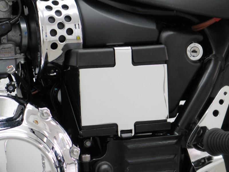 Triumph America Speedmaster Chrome Battery Case Cover Left Magnum