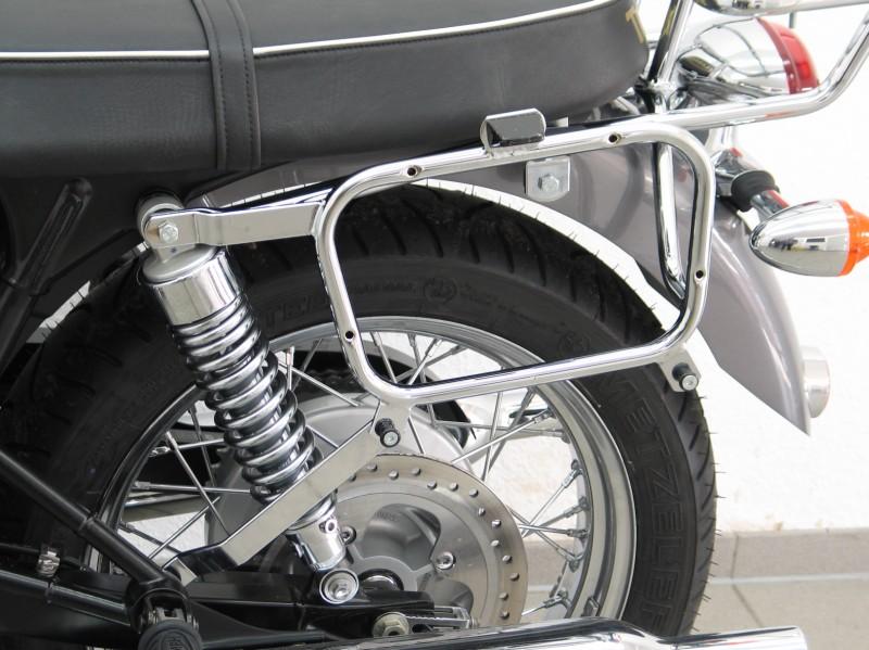 Triumph Bonnevillet100 Side Case Mounting Brackets For Givi