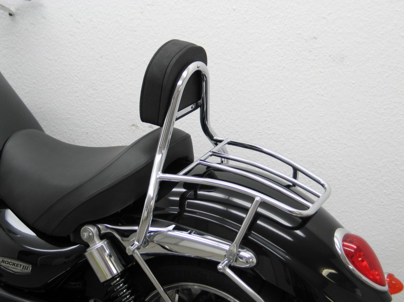 Triumph Rocket 3 Iii Roadster Solo Rider Driver Backrest