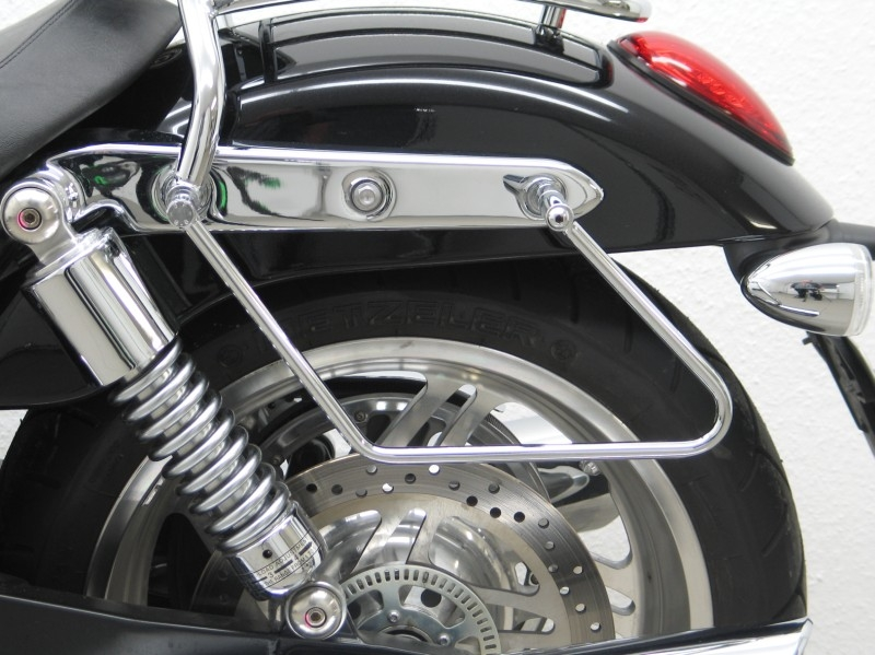Triumph Saddlebag Supports Guards Racks Stay