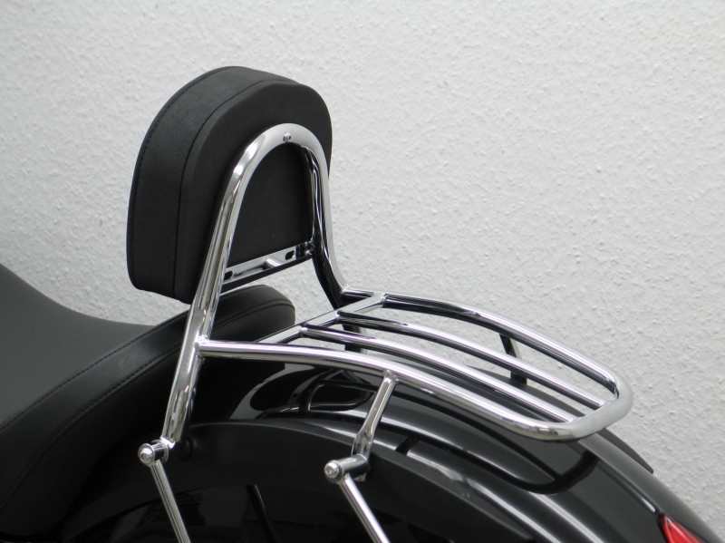 Motorcycle Helmets For Sale >> Victory Vegas Driver Backrest and Luggage Rack | MAGE6102