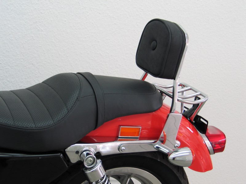 Harley Davidson Sportster Evo 2004 Up Sissybar And Pad