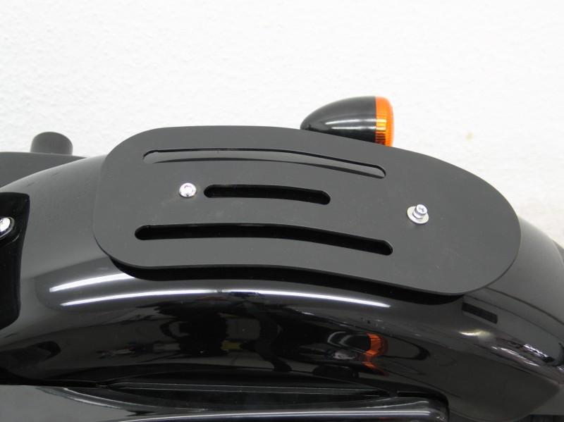 Harley Davidson Sportster 48 Solo Luggage Rack, Formed Steel Black Finish, Magnum | MAGE7116 ...