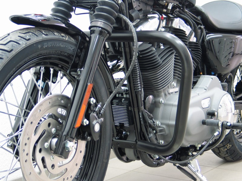 Harley Davidson Sportster 48 Crashbars One Piece Black