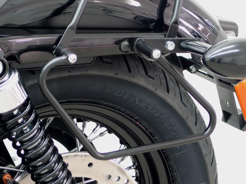 Harley Davidson Sportster Evo 2004 Up Saddlebag Supports Black ...