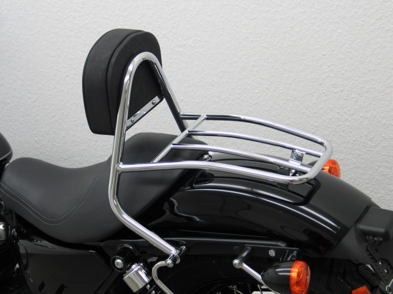 Harley Davidson Sportster Evo 2004 Up Driver Backrest And