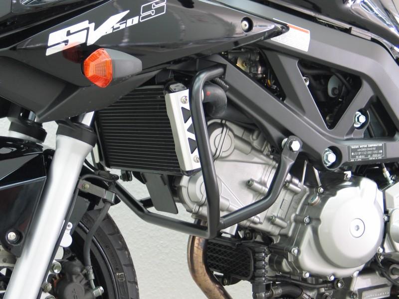 Motorcycle Helmets For Sale >> Suzuki SV650 S 2003 Up Crashbars Compact Design Engine Guard Black Finish Magnum