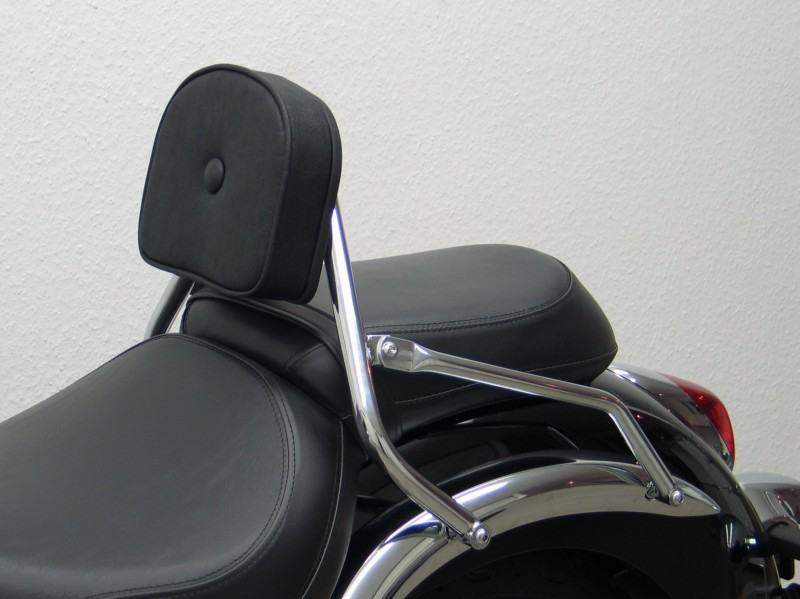 kawasaki vn900 classic driver backrest and luggage rack. Black Bedroom Furniture Sets. Home Design Ideas