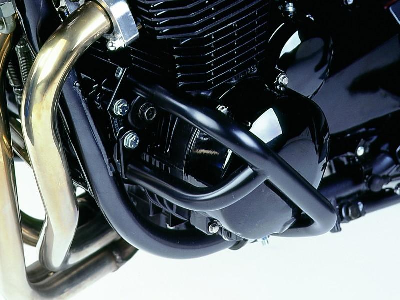 Kawasaki Zr 7 Crash Bars Engine Guard Protector Black