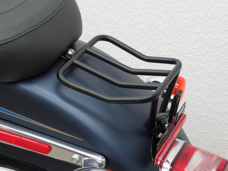 Bmw Motorcycle Parts >> Harley Davidson Softail 2007 Up Twin Cam Rear Rack, Small Luggage carrier Black | MAGE7860 ...