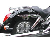 Klicbags Quick Release Saddlebags motorcycle locking