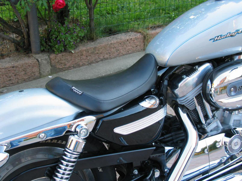 Granucci Gel Seat Solo Seat Harley Davidson –SPORTSTER 883/1200 from
