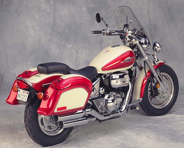 Triumph Thunderbird 1600 Cruiseliner Saddlebags Motorcycle