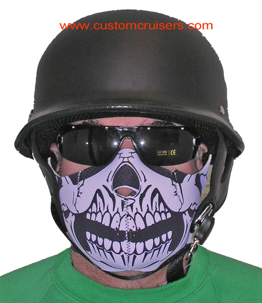 Motorcycle Helmets For Sale >> Face Mask Skull neoprene biker face mask warm and looks cool-
