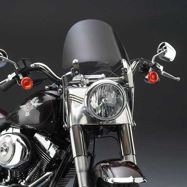 Harley Davidson Windshields >> National Cycle Switchblade Deflector Clear Windshield For Harley