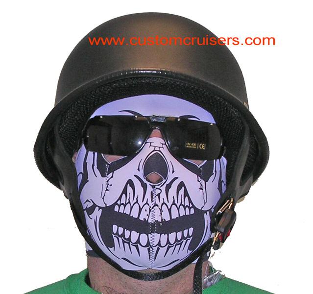 Face Mask Skull Neoprene Biker Face Mask Warm And Looks Cool