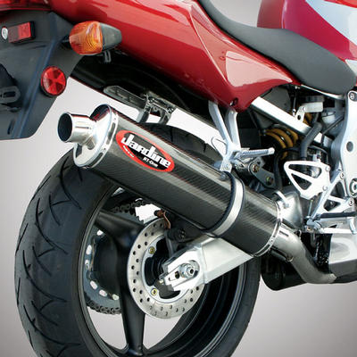 Honda cbr600 f4i 01 06 jardine carbon race can slip on for Jardine exhaust