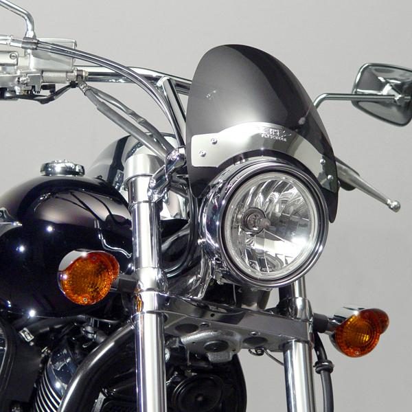 Mini Bike Windshield : Flyscreen tint vn c custom