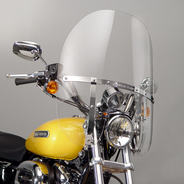 Harley Davidson Windshields >> National Cycle Switchblade 2-UP Windshield for Harley ...