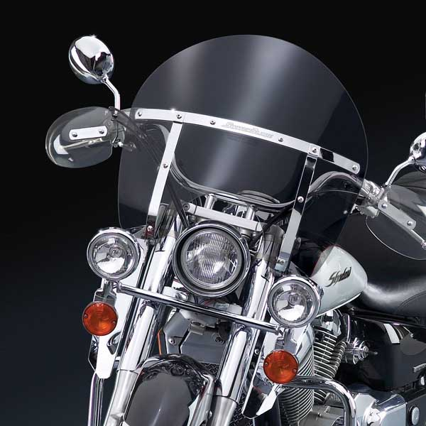 2000 Honda Shadow 1100: National Cycle Switchblade Chopped Tinted Windshield For