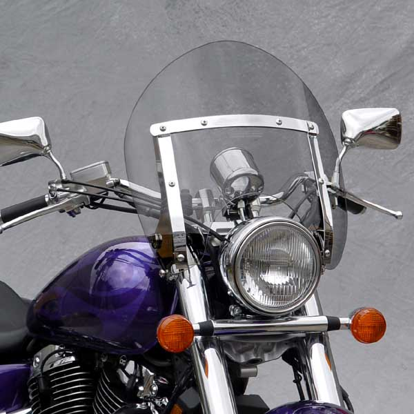 2000 Honda Shadow 1100: National Cycle Switchblade Shorty Tinted Windshield For