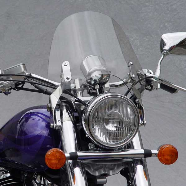 2000 Honda Shadow 1100: National Cycle Switchblade Deflector Clear Windshield For