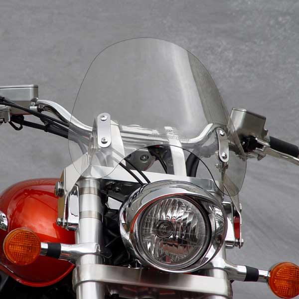 national cycle switchblade deflector clear windshield  honda vtxrs retro