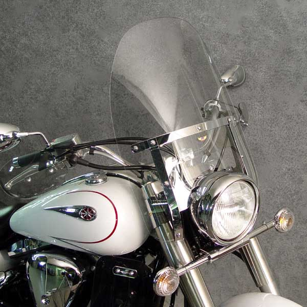 national cycle custom heavy duty windshield yamaha xv1600