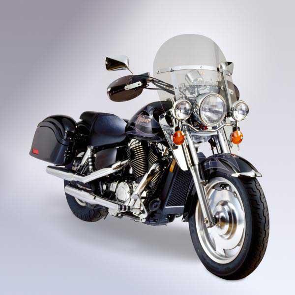 2000 Honda Shadow 1100: National Cycle Heavy Duty Chopped Windshield Honda