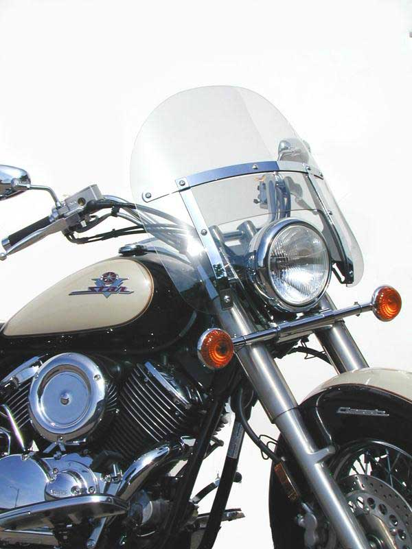 national cycle heavy duty chopped windshield yamaha