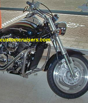 Kawasaki Special Edition Mean Streak Highway Bars