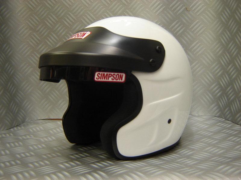 Simpson Cruiser Helmet Motorcycle Helmet M2005 DOT Spec with sun visor NASCAR look