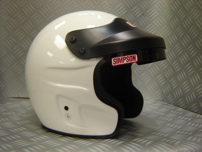 Side By Side Motorcycle >> Simpson Cruiser Helmet Motorcycle Helmet M2005 DOT Spec ...