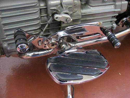 Motorcycle Helmets For Sale >> Triumph Rocket III Heel Toe Shifter