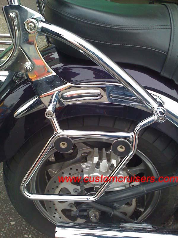 Yamaha Xvs1100 Dragstar V Star Custom Saddlebags Panniers