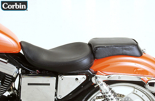 harley davidson sportster corbin classic solo seat 96 03. Black Bedroom Furniture Sets. Home Design Ideas