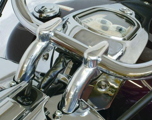 Yamaha Xv1900 Handlebar Risers With Caps