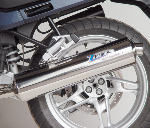 BMW R1100RT - Stainless Steel Eurosport Exhaust System