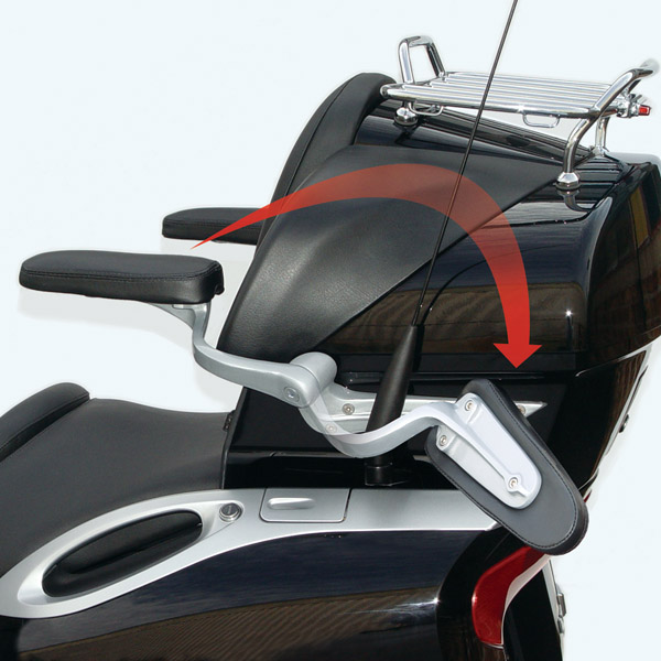 Motorcycle Passenger Armrest Yamaha