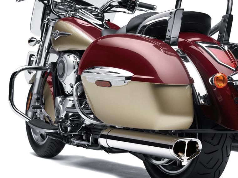 Kawasaki Voyager  Cobra Exhaust