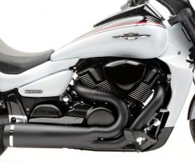 Suzuki M1800R VZR1800 DG VPR Exhaust black M109R2 Hard krome