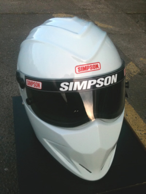 Simpson Helmets for Motorcycle and Auto sports Motorsport FIA MSA approved