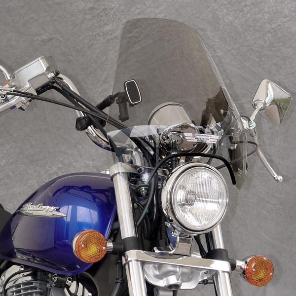 triumph america windshield deflector windscreen dx clear