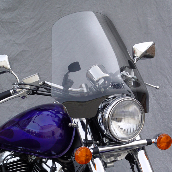 Jardine Quick Release Backrest M109r: Honda VT125 Shadow Windscreen Street Windshield EX Light