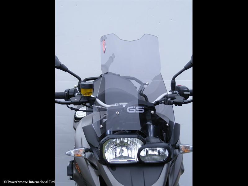 bmw f700gs windscreen flip up windshield clear. Black Bedroom Furniture Sets. Home Design Ideas