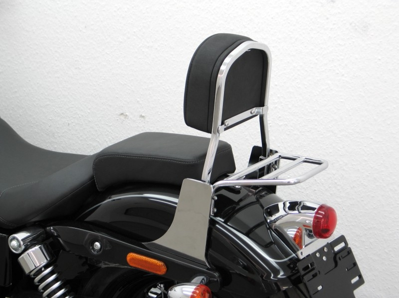 Harley Davidson Dyna Wide Glide Sissy Bar Special With Pad